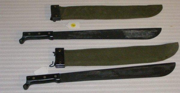 1044: (2) ONTARIO KNIFE COMPANY US. MACHETES