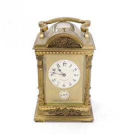 19TH CENTURY FRENCH PRESENTATION CLOCK BY MOSER OF