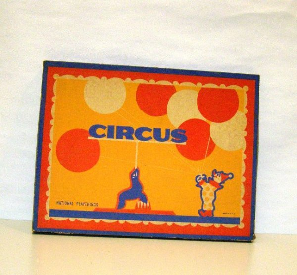 9: CIRCUS BOX GAME - NATIONAL PLAYTHING.