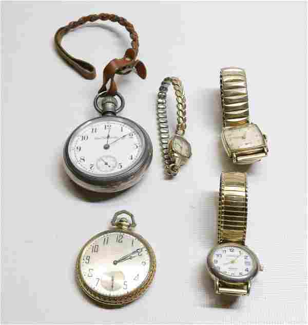 GROUP LOT OF VINTAGE WATCHES