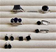 GROUP LOT OF CONTEMPORARY JEWELRY