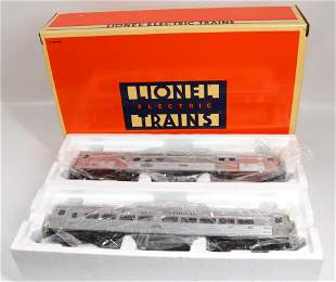 LIONEL ENGINE AND CAR LOT
