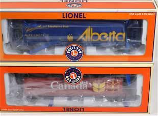 LIONEL TRAIN CAR LOT