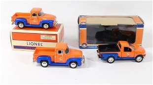 LOT OF LIONEL TRUCKS