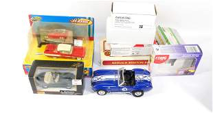 DIECAST CAR BOX LOT