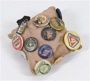 GROUP OF ADVERTISING PINS