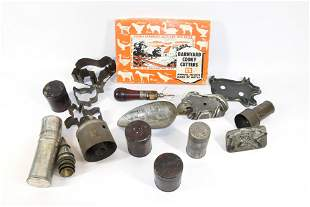 GROUP LOT OF TIN KITCHEN ITEMS