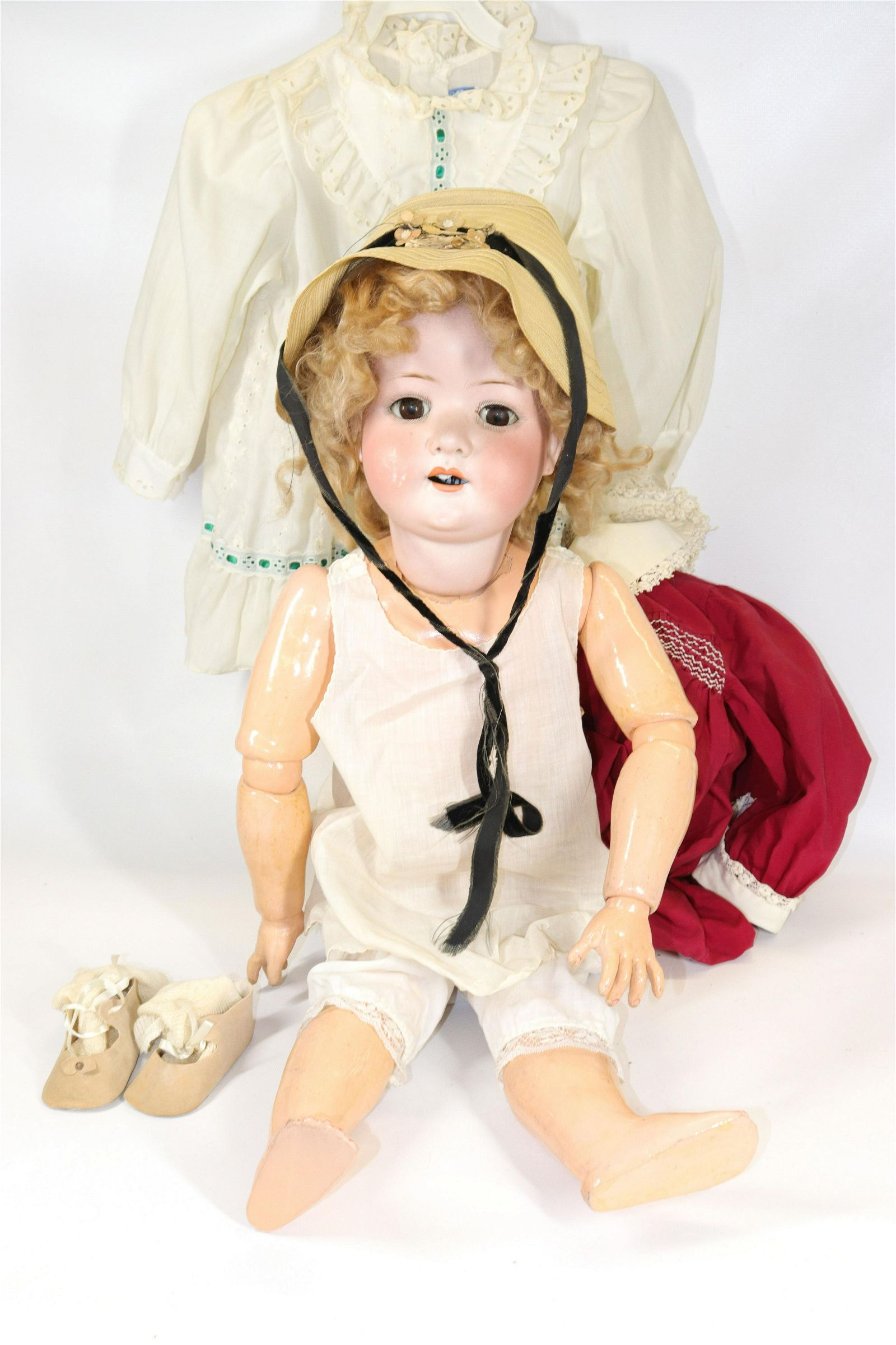 HEUBACH BISQUE DOLL