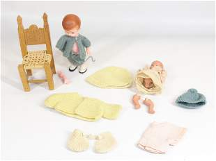 GROUP LOT OF DOLLS AND ACCESSORIES