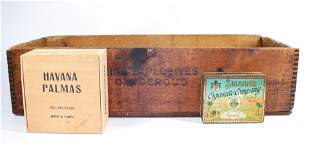 GROUP LOT OF ADVERTISING BOXES
