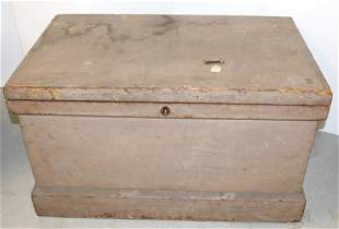 LARGE PAINTED TOOLBOX