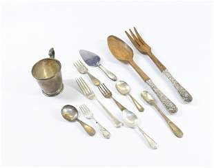 GROUP LOT OF STERLING SILVER