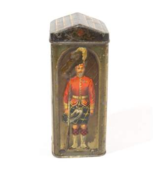 JOHN HILL & SON BISCUIT TIN