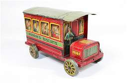 PERRINS BISCUIT TIN TRUCK