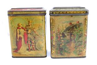PR. OF CARR AND CO. BISCUIT TINS