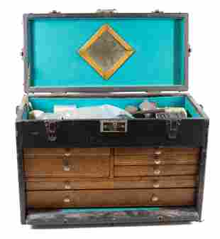 MACHINIST TOOL CHEST AND CONTENTS