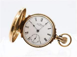 WALTHAM AMERICAN WATCH COMPANY GOLD POCKET WATCH