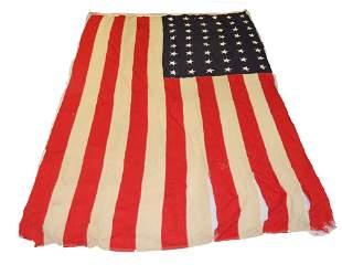 VINTAGE 48-STAR AMERICAN FLAG
