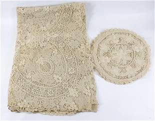 SPANISH LACE TABLECLOTHS AND PLACEMATS