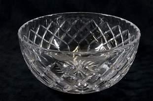 CARTIER CUT GLASS BOWL