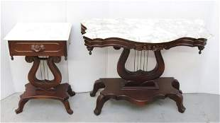 VICTORIAN STYLE SIDE TABLES