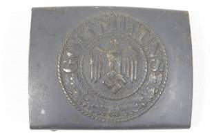 GERMAN WWII HEER BELT BUCKLE