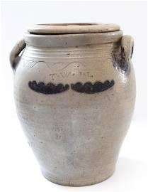 Early 19th century stoneware jar