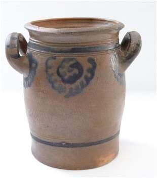 Early stoneware jar