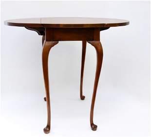 Baker mahogany side table