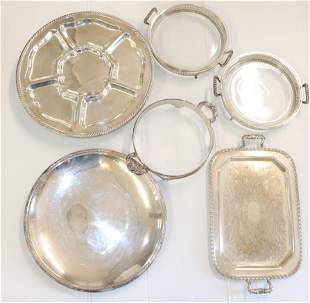 GROUP LOT OF SILVERPLATE