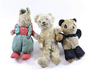 GROUP LOT OF VINTAGE STUFFED TOYS