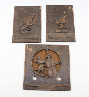 1930S EMERSON MICKEY MOUSE RADIO PANELS