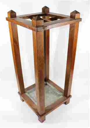 ARTS AND CRAFTS STYLE UMBRELLA STAND