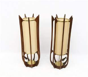 PAIR OF ADRIAN PEARSALL TABLE LAMPS