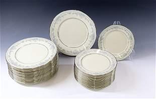 (24) LENOX REVERIE SALAD/BREAD PLATES