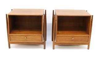 MID-CENTURY KIPP STEWART DECLARATION NIGHTSTANDS BY