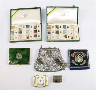 PURSE AND COMPACT LOT