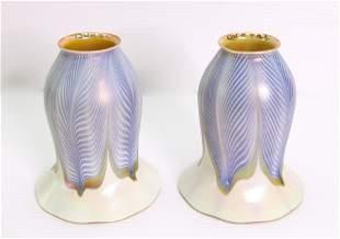 PR. QUEZAL ART GLASS SHADES
