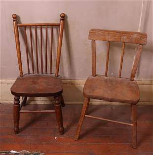 PR. OF CHILDS CHAIRS