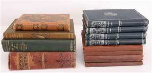 GROUP LOT OF ANTIQUE BOOKS
