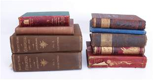 GROUP LOT OF HISTORICAL BOOKS