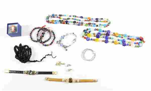 CONTEMPORARY COSTUME JEWELRY GROUP