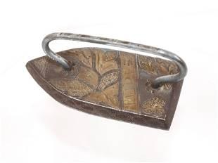 Fine Inlaid Amozoc Iron