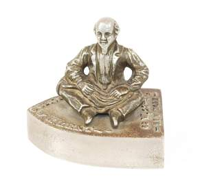 W.H. Lent Tailors Supply Advertising Paperweight