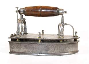 Fancy French 18th Century Box Iron