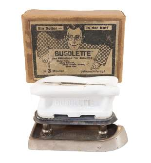 Bugolette Iron with Original Box