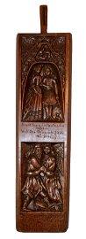Fantastic 17th Century German Mangle Board