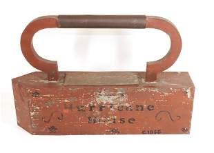 Hurricane House Iron Trade Sign