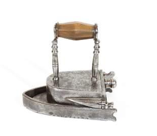 Early Small Size German Box Iron