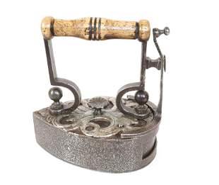 19th Century Danish Round Back Slug Iron